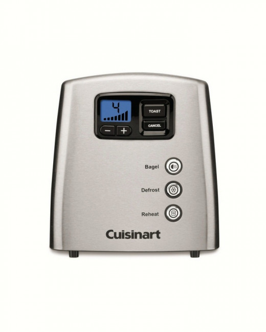 Cuisinart CPT-420 Touch to Toast Lever-less 2-Slice toaster
