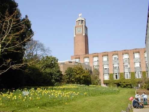 University of Exeter Clock Tower