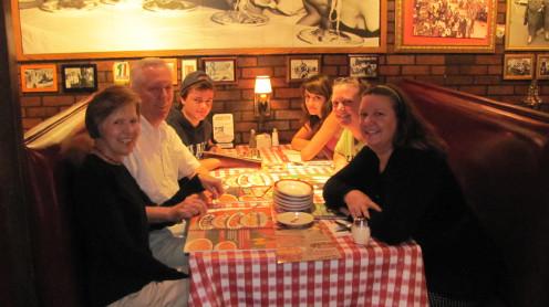 Eating Pasta at Buca-Our Favorite Italian Restaurant