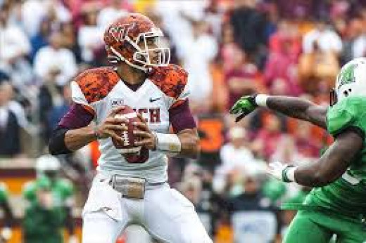 QB Logan Thomas (Virginia Tech)