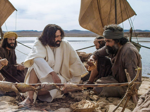 After His resurrection, Jesus expressed love and forgiveness to Peter at breakfast on the beach.
