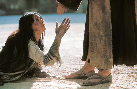 Jesus forgave the adulteress because of her repentant attitude.