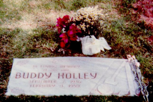 Buddy Holley Headstone