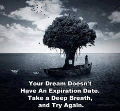 When do you give up on a dream?