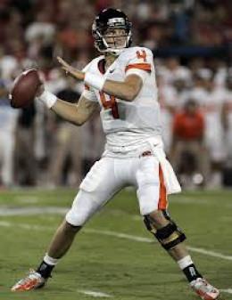 QB Shawn Mannion (Oregon State0