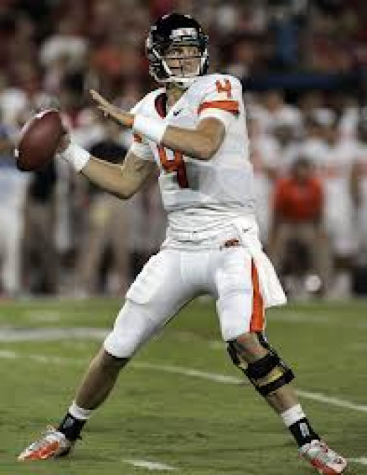 QB Shawn Mannion (Oregon State0