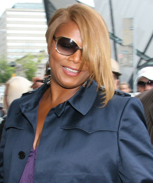 Queen Latifah remains humble through her rise to stardom.