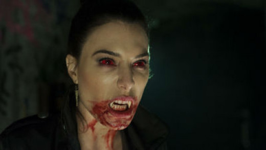 Jaime Murray ready to attack as Gerri in Fright Night 2: New Blood