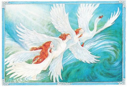The children of Lir - turned into swans by Aoife for the duration of nine hundred years