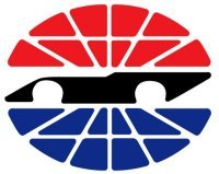 The red white and blue SMI logo is a part of numerous Sprint Cup tracks including Bristol and Sonoma