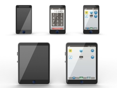 Modern Devices Tablets, Phones