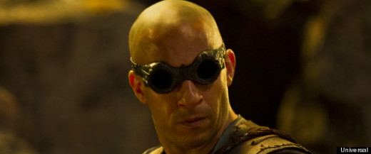 Vin Diesel delivers another awesome performance as Riddick.