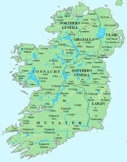Ireland's early kingdoms, its kings fought for overall power long before the Norsemen founded their trading havens and long phorts - defeated kings were slain, wives and offspring sold off as slaves to be traded as far afield as Iceland and Arabia