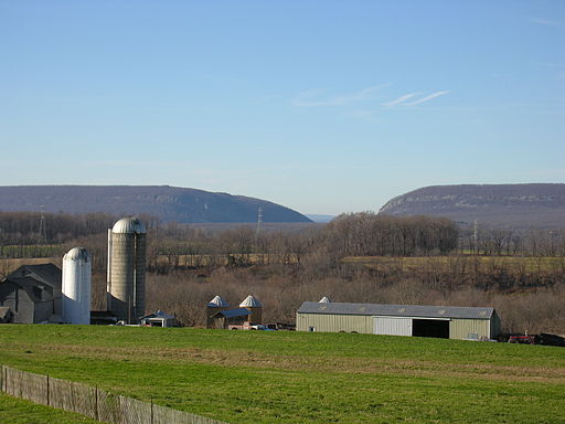 The countryside of eastern Pennsylvania, near Delaware Water Gap.