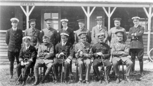 Central Flying School Staff January 1913