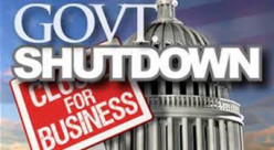 Tea Party Inspired Gov't Shutdown is now a Done Deal - Let The Havoc Begin! COST-16+45 Days-$8 + 9 Billion