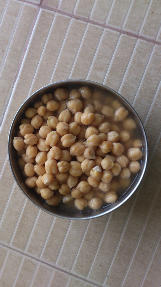 Chick peas - an antioxidant high in fiber, protein and essential vitamins and minerals