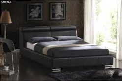 Leather Platform Beds used