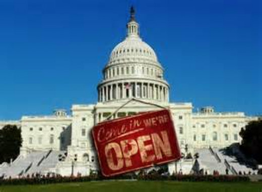 Government 'open for business""