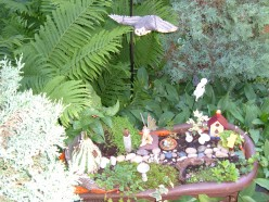 How to make a Fairy Garden in a Planter