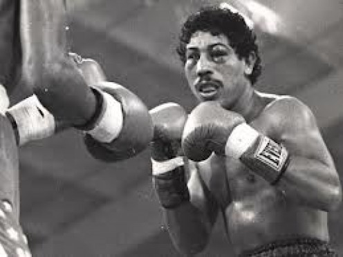 Wilfredo Gomez was a big knockout puncher from Puerto Rico. He could dish it out as well as take it.