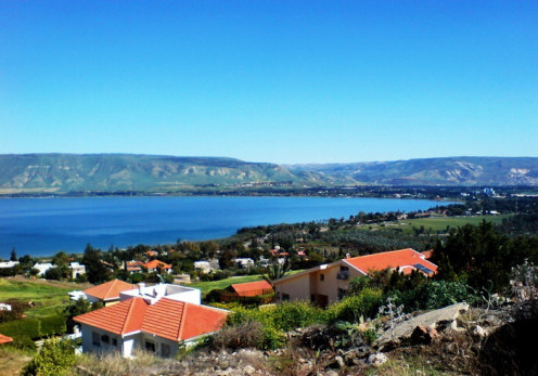 """View of  """"Sea of Galilee"""""""