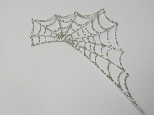 Sparkly Spider Web