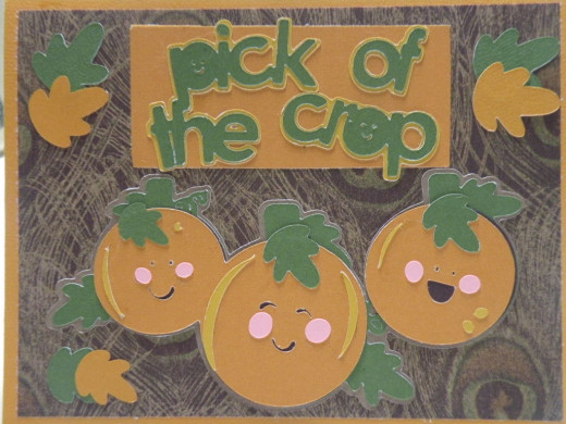 Pick of the Crop Card