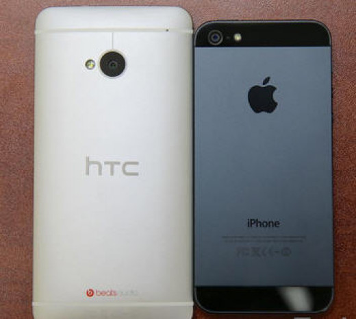 HTC One to iPhone