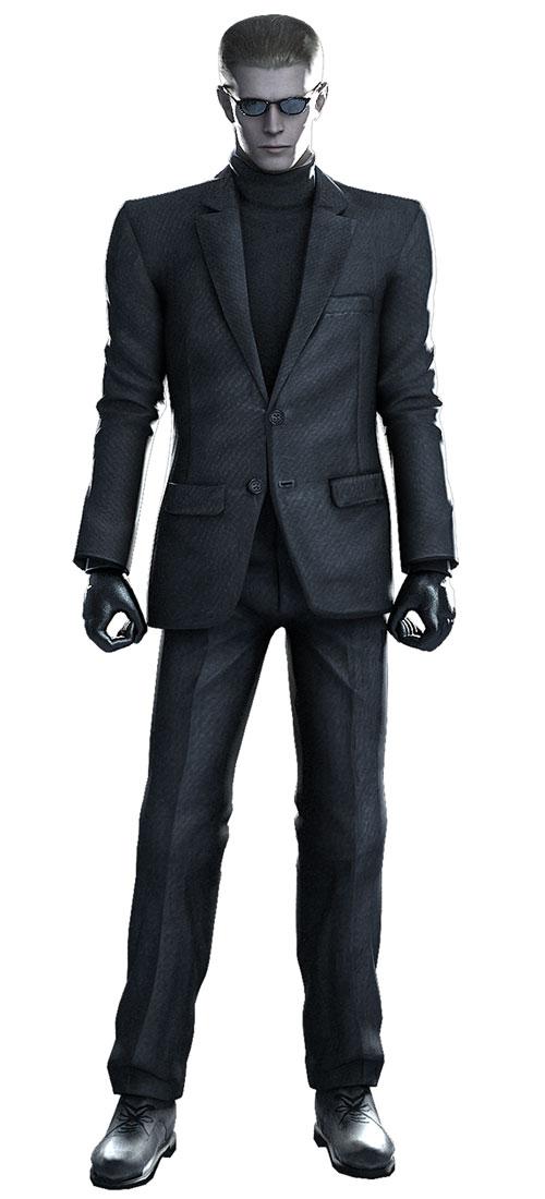 """Wesker in """"Resident Evil 4"""" and """"Resident Evil: Umbrella Chronicles."""""""