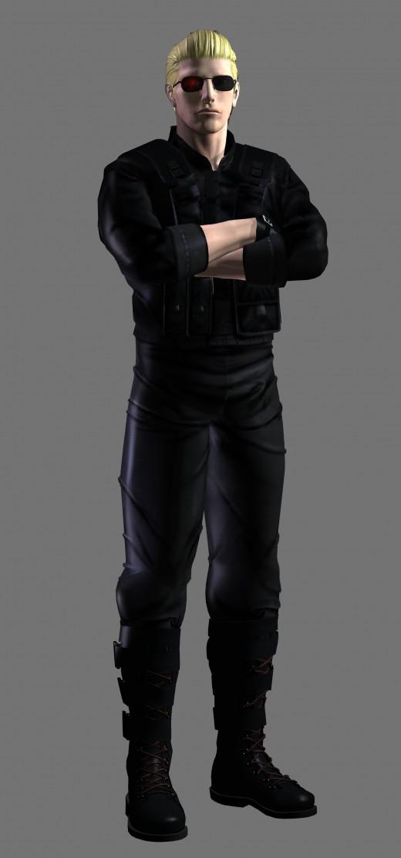 "Wesker in ""Resident Evil: Code Veronica."""