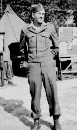 John Schaffner, B Battery, 589th FAB. He was able to escape from Baraque de Fraiture and survive the war.