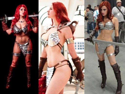 Red Sonja Cosplay Costumes
