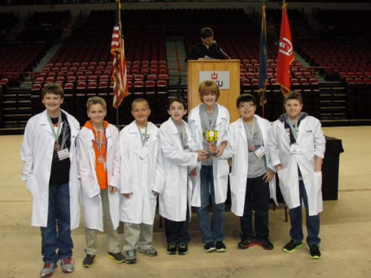 BrainyBots Top 2nd overall at KY State tournament