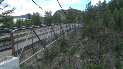 Yellowstone River Suspension Bridge