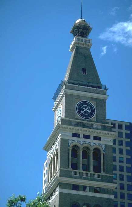 Clock Tower in Denver