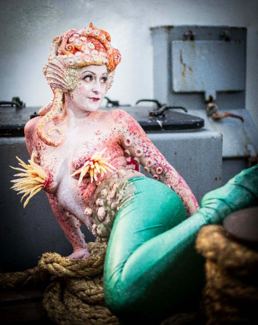 Mermaid Character from Civilised Mess