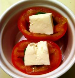 Stuffed Tomatoes Appetizer