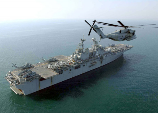 USS Boxer: Wasp-class Amphibious Assault ship