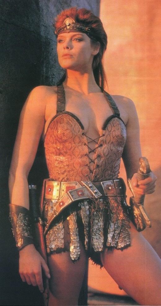 Brigitte Nielsen as Red Sonja