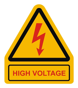 Warning and Instructional Plates - High Voltage