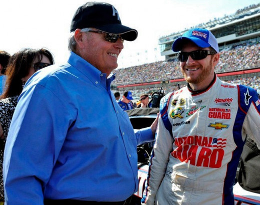 Dale Earnhardt Jr. couldn't bring a trophy home for Mr. Hendrick this past weekend thanks to the near-impossibility to pass up front