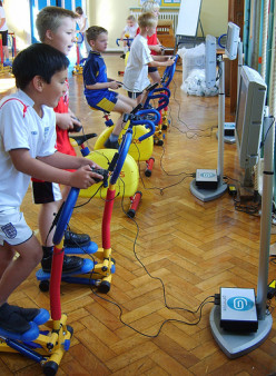 Games and activities for children; outdoors and indoors