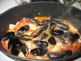 This is the original rustic Ciupin, a very distant cousin of the San Francisco-originated Cioppino.