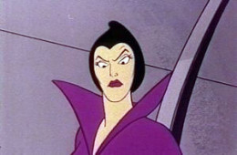 The always evil Queen Vanda was out to thwart Sport Billy's plans
