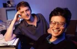 Jerry Yang & David Filo founded Yahoo, corporate headquarters in Sunnyvale.