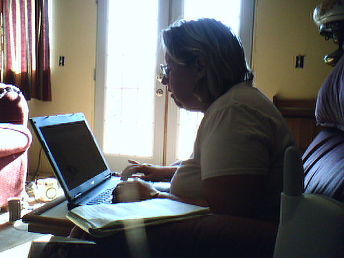 I decided that even if it were just me and my laptop, I would treat my writing like a business and write a business plan.