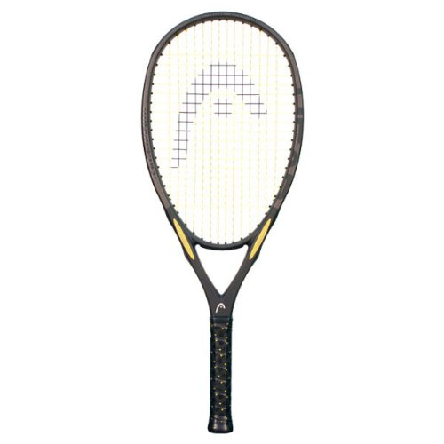 Exceptionally light and powerful, the Head i.S12 offers control and comfort for an affordable price.  Its strong and steady feel is great for net play and volleying.