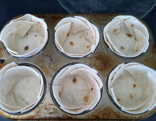 Tortillas ready to fill.