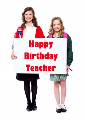 Wish your teacher on Teacher's Day and on birthdays. Such a gesture will go a long way in helping you build a personal rapport with your teacher.